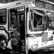 New York City Bus Art Print