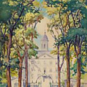 New York City Hospital Art Print