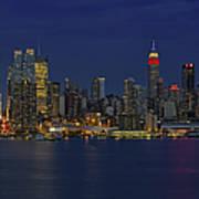 New York City Lights Art Print