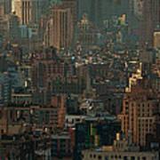 New York City Posterized Art Print