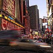 New York City Rush Art Print