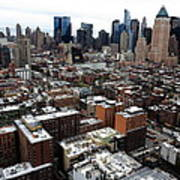 New York City Skyline 20 Art Print