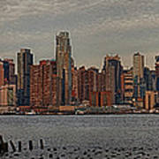 New York City Skyline Panoramic Art Print