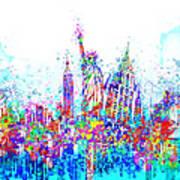 New York City Tribute 3 Art Print