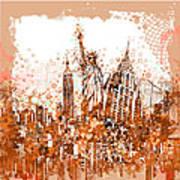 New York City Tribute 4 Art Print