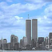 New York City Twin Towers Glory - 9/11 Art Print