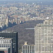 New York City - View From Empire State Building - 121211 Art Print