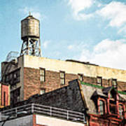 New York City Water Tower 2 Art Print