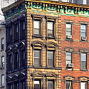 New York City - Windows - Old Charm Art Print
