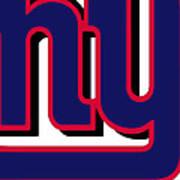 New York Giants Football 2 Art Print