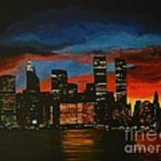 New York In Glory Days Art Print
