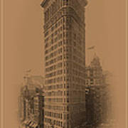 New York Landmarks 3 Art Print
