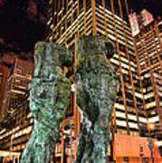New York - Looking Toward The Avenue Art Print