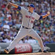New York Mets V Colorado Rockies Art Print