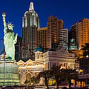 New York New York Las Vegas Art Print