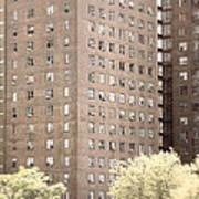 New York Public Housing Art Print