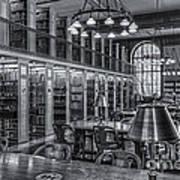 New York Public Library Genealogy Room II Art Print