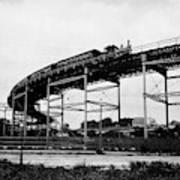 New York Railroad Bridge Art Print