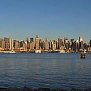 New York - Skyline Of New York Art Print