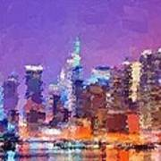New York City - Skyline Art Print