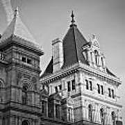 New York State Capitol Building Art Print