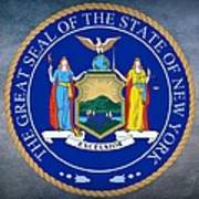 New York State Seal Art Print
