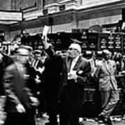 New York Stock Exchange 1963 Art Print