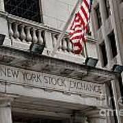 New York Stock Exchange Building Art Print