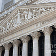 New York Stock Exchange I Art Print by Clarence Holmes