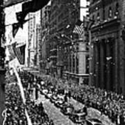 New York Ticker Tape Parade Art Print