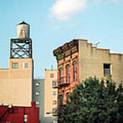 New York Water Tower 3 Art Print