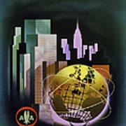 New York Worlds Fair Art Print