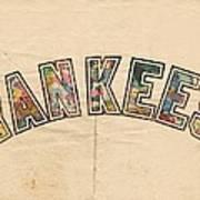New York Yankees Poster Art Art Print