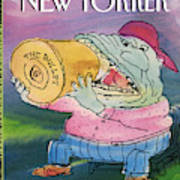 New Yorker April 19th, 1993 Art Print