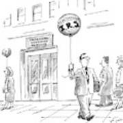 New Yorker April 20th, 1998 Art Print