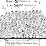 New Yorker April 21st, 1997 Art Print
