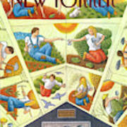 New Yorker April 22nd, 1991 Art Print