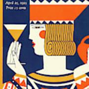 New Yorker April 25th, 1925 Art Print