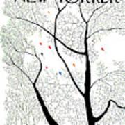 New Yorker April 3rd, 1971 Art Print