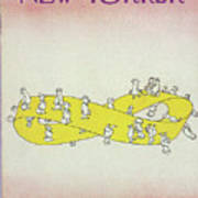 New Yorker April 5th, 1976 Art Print