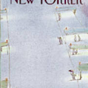 New Yorker April 7th, 1986 Art Print