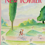 New Yorker August 11th, 1986 Art Print