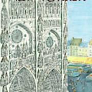 New Yorker August 13th, 1966 Art Print