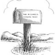 New Yorker August 24th, 1987 Art Print