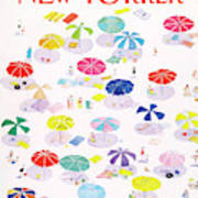 New Yorker August 24th, 1987 Art Print