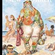 New Yorker August 29th, 2005 Art Print
