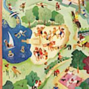 New Yorker August 31st, 1946 Art Print