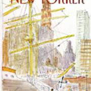 New Yorker August 31st, 1981 Art Print