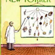 New Yorker August 4th, 1986 Art Print