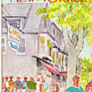 New Yorker August 6th, 1973 Art Print